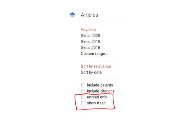 Google Scholar Tools