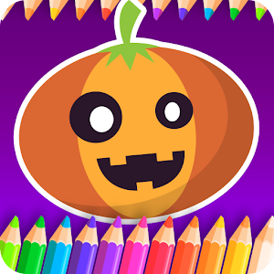 Tải Kids coloring book halloween APK