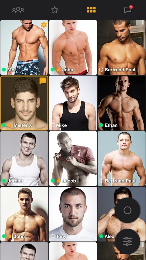 Gay chat, meet & date - Free Forever - Boys- screenshot