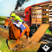 Transporter Train Horse Racing