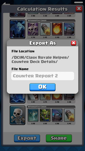 Counter Deck Generator for Clash Royale 2.0.0 PC u7528 7