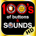 100's of Buttons & Sounds Pro icon