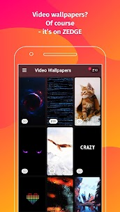 ZEDGE Pro Wallpapers Ringtones Mod APK (Purchased) 6.8.17 5