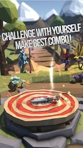 Flip Knife 3D: Knife Throwing Game 1.0.3 Android Mod + APK + Data 3
