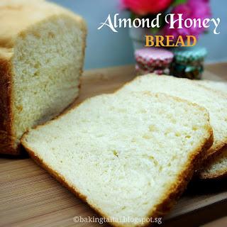 Almond Honey Bread.