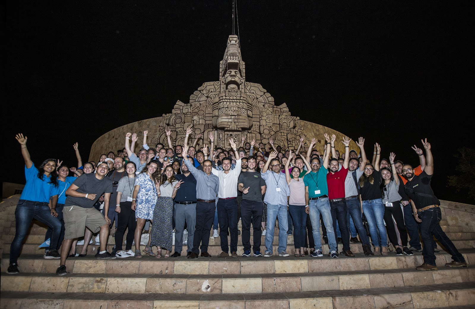PayJoy employees gathering in Mexico