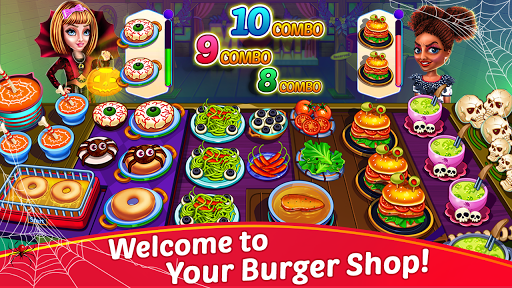 Halloween Cooking: Chef Madness Fever Games Craze apkpoly screenshots 9