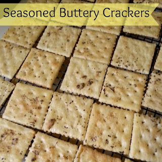 Seasoned Buttery Crackers