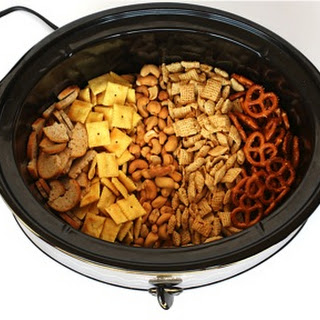Crock Pot Chex Mix Recipe! {Parmesan Ranch}