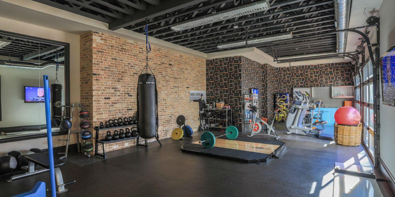 Phòng gym ngay tại nhà giúp bạn thoải mái làm điều mình muốn