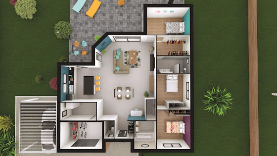 Vente maison 4 pièces 118 m2