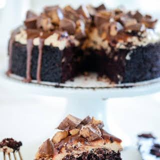 Reese's Dark Chocolate Cake!.