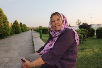 Photo: Day 136 - Dee in  Naghsh-i Jahan Square Square, Esfahan