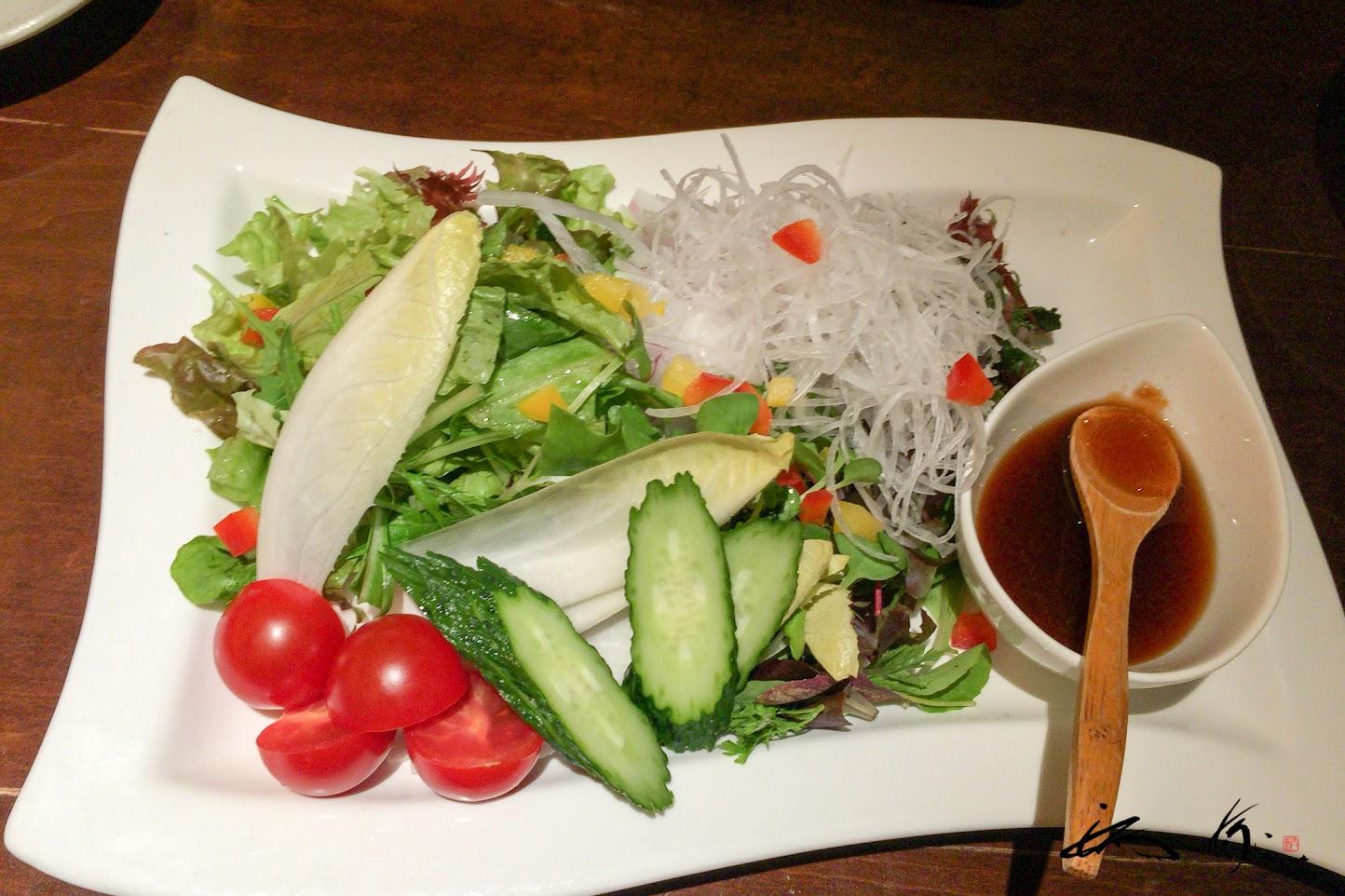 20種の野菜サラダ
