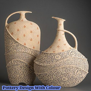 Pottery Design With Colour - náhled