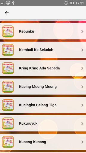 Lagu Anak Indonesia TK & PAUD  screenshots 6