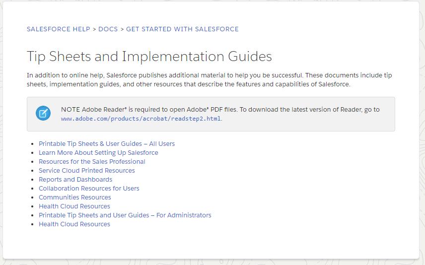 Salesforce Trailblazer Community screen shot