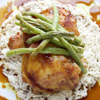 Sweet and Tangy Chicken.
