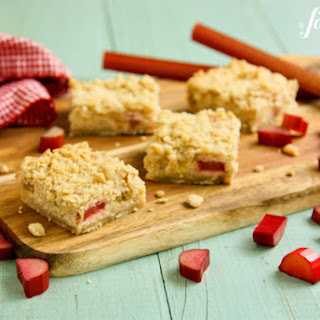 Rhubarb Cream Cheese Bars