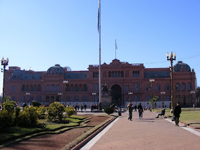 Photo: The Pink Palace, Buenos Aires