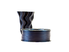 Closed Loop Plastics Nebula Black U-HIPS 3D Printing Filament - 0.5kg - 1.75mm