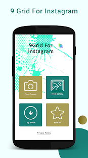 9 Grid for instagram - náhled
