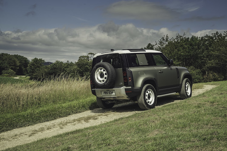 The short-wheelbase Defender 90 will arrive here early next year. Picture: SUPPLIED