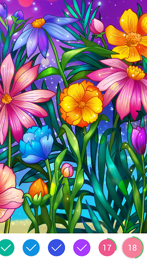 Coloring Book - Color by Number & Paint by Number 1.6.11 screenshots 4