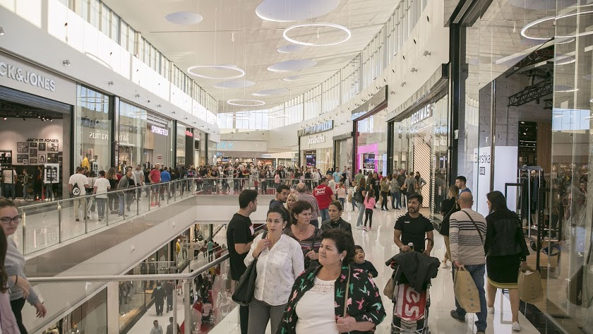 Imagen de archivo del Centro Comercial Torrecárdenas.