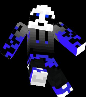cool blue panda nova skin