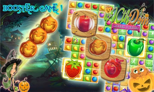 WITCH FRUIT MATCH 3 - náhled