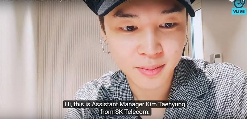 V called on Jimin's Vlive and made a Humorous Prank