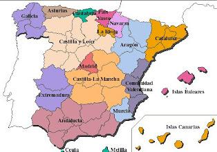 Photo: Mapa autonómico