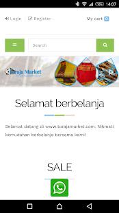 Download Toraja Market For PC Windows and Mac apk screenshot 1