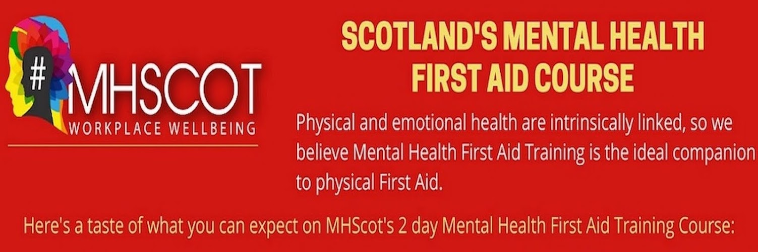 Scotland's Mental Health First Aid 2-Day Course - Oct-Nov 2020