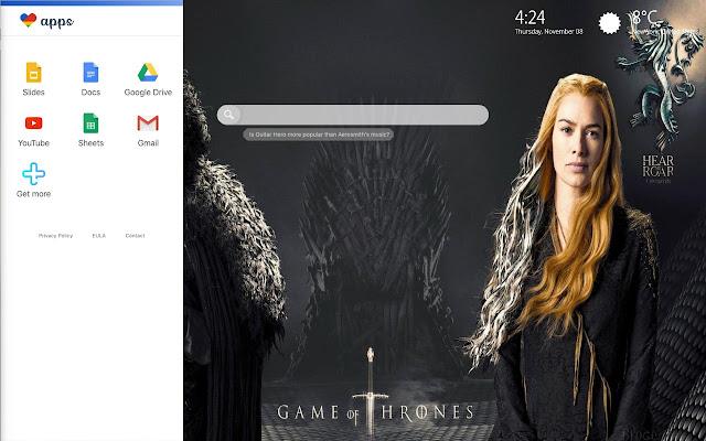 Game Of Thrones Season 8 Wallpaper Theme Chrome Web Store
