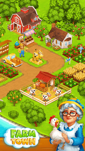 Farm Town: Happy village near small city and town 7