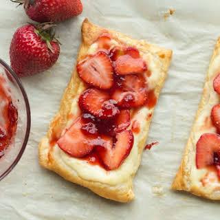 Strawberry Cream Cheese Danishes.