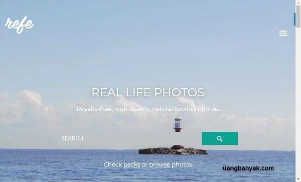 penyedia gambar gratis getrefe untuk keperluan blogging