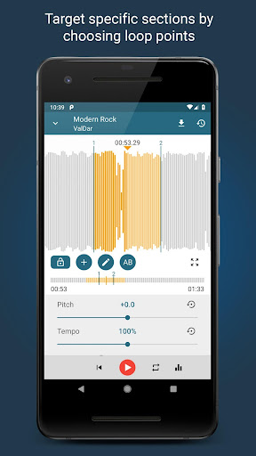Music Editor Pitch and Speed Changer : Up Tempo 1.15.1 Screenshots 2
