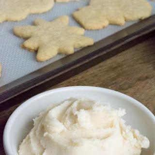 Sugar-Free Vanilla Buttercream Frosting.