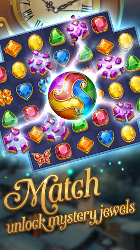 Jewel Mystery - Match 3 & Collect Puzzles 1.2.2 screenshots 1