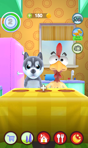 Talking Puppy And Chick 1.29 screenshots 7