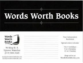 Photo: Words Worth Books (Waterloo, Canada)