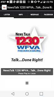 NewsTalk 1230 WFVA- screenshot thumbnail