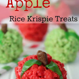 Apple Rice Krispie Treats