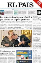 """Photo: El dato de déficit supera las previsiones, Urdangarín dice que ya en 2008 vio que las cuentas """"no eran transparentes"""", la resca de los Oscar y el invierno más seco, en la portada de la edición impresa del 28 de febrero http://ep00.epimg.net/descargables/2012/02/28/78d61e9f01b913b61829ec64580107d9.pdf"""