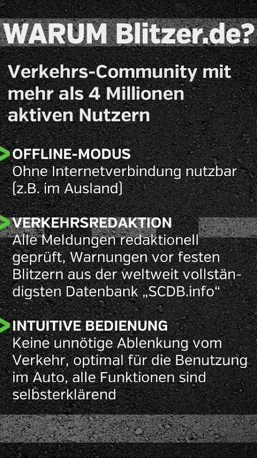 Blitzer.de - screenshot