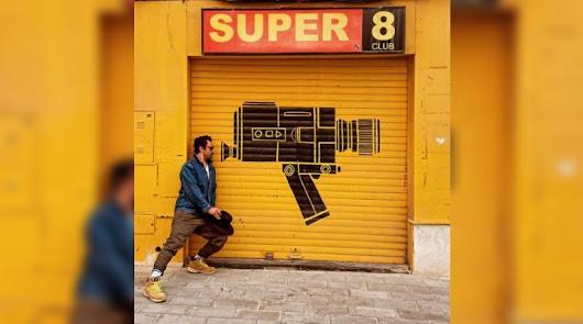 Dominic Cooper, en Almería para el rodaje del western 'That Dirty Black Bag'