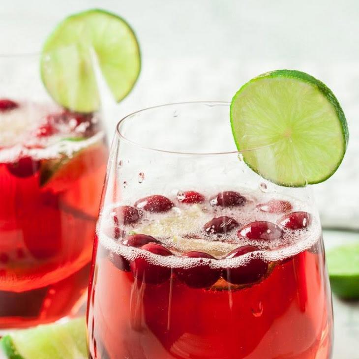 Sparkling Cranberry Prosecco Cocktail Recipe